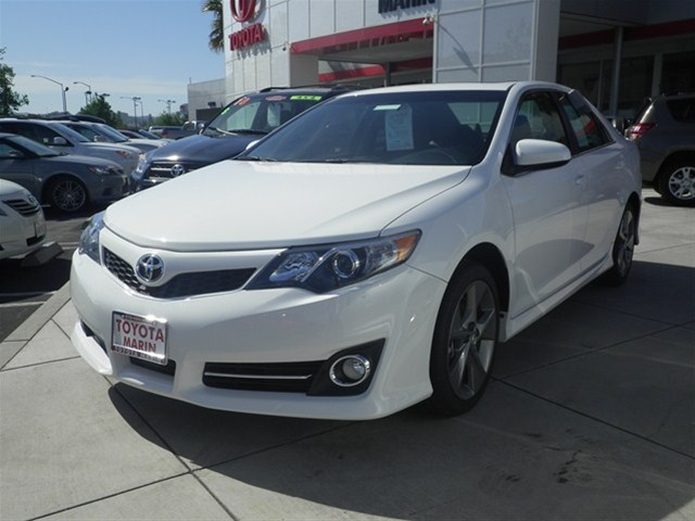 don t miss this 2012 toyota camry se v6 sedan for only 28 040 toyota marin. Black Bedroom Furniture Sets. Home Design Ideas
